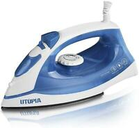 1200W Travel Steam Iron Clothes Electric Press Laundry Garment Small Powerful