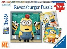 Kinderpuzzle 3 x 49 Teile - Minion: Ich unverbesserlich von Ravensburger