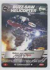 2007 007 Spy Cards: Commander #076 Buzz-Saw Helicopter Gaming Card 1i3