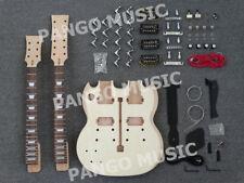 Double Neck SG Left-hand DIY Electric Guitar Kit / DIY Guitar (PSG-100K)