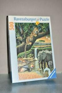 RAVENSBURGER  142019 - 500 PIECE JIGSAW  TIGERS IN AFRICA