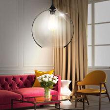 Retro Hänge Leuchte Pendel Lampe Gästezimmer Decken Amber Glas Kugel Strahler