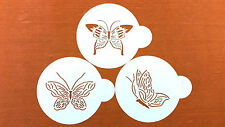 CAKE DECORATING STENCIL SET BUTTERFLY WEDDING CAKES &OTHER CAKES ARTS CRAFTS S28