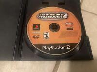 Tony Hawk's Pro Skater 4 (Sony PlayStation 2, 2002) PS2 Tested Fast Free Ship