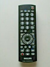 Philips CL035A Universal DVD VCR TV Remote Control Black