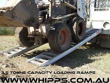 Heavy Duty Bobcat Machinery Loading Ramps