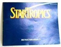 [*MANUAL ONLY*] StarTropics (Nintendo NES) *NO GAME - NO BOX*