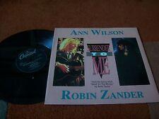 "ANN WILSON & ROBIN ZANDER - surrender to me  12"" single..1988.. heart ...EX"