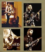 "Vintage Allman Brothers  DUANE ALLMAN  4  11x14  ""LIVE CLUB PHOTOS""  1971"