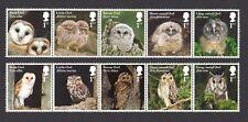 2018 OWLS - Mint Stamp Set of 10v