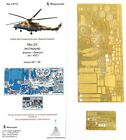 Microdisign 1/48 Soviet Mi-24V/VP/P Exterior Detail set 048243 for Zvezda kit