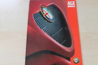 91764) Alfa Romeo 145 145 156 GTV Spider Prospekt 09/1997