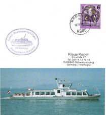 AUSTRIAN RIVER CRUISER MS MONTAFON A SHIPS CACHED CARD & SMALL PICTURE