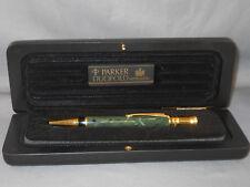 Parker Centennial Duofold Green marble ball pen