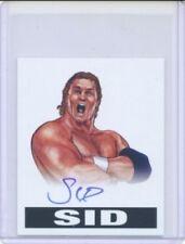 """SID VICIOUS """"AUTOGRAPH CARD #A-SID"""" LEAF ORIGINALS WRESTLING WWF WCW"""
