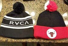 Rvca/Mitchell ness pom hat set of 2. $69