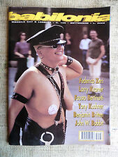 BABILONIA mensile gay e lesbico n.136 settembre 1995 Tony Kushner, Larry Kramer