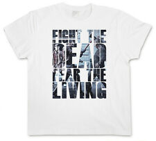 FIGHT THE DEAD FEAR THE LIVING T-SHIRT - Daryl Dixon The Walking Living Dead 3XL