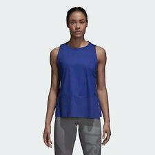 Adidas Top Tech Camiseta de Tirantes Mujer Blanco y Negro Ropa Deportiva Active