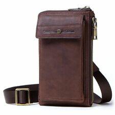 Phone Bag Case Belt Wallet Zipper Shoulder Bag WithCard Slot Engraving Your Text