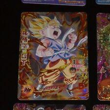DRAGON BALL Z DBZ DBS HEROES CARD PRISM HOLO CARTE HG1-CP4 CP MADE IN JAPAN **