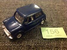 Speedy Power 1/32 DIECAST Mini Cooper Bleu-Classic Mini-métal - 1998 vintage