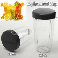 24/32OZ Juicer Cup Mug With Lip For Blender