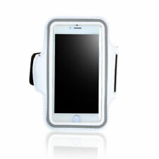White Mobile Phone Armbands for iPhone 6