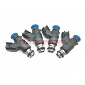 Set of 4 Fuel Injectors For Chevrolet Aveo Aveo5 1.6L 96487553 FJ1023 4G1899