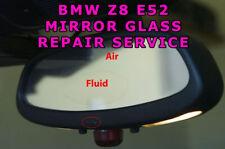 BMW E52 Z8 Rear View Mirror Auto-Dimming Glass Cell REPAIR SERVICE