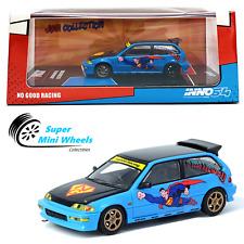 "INNO64 1:64 Honda Civic EF9 ""No Good Racing Superman"" JDM"