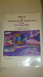 Régis Pouget - Précis de psychologie médicale et de psychiatrie