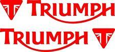Triumph 2 Aufkleber- Tiger Rocket Street-Triple 200 mm 21 Farben