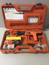Ramset Cobra Red Head Semi Auto 27 Caliber Powder Tool W/ Case and Accessories