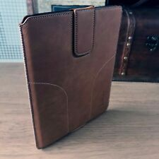 iPad Mini Pouch Tough Leather Light Brown Slip Case By Shocksock