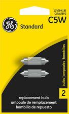 GE License Light Bulb Rear 2 Pack Part # C5W