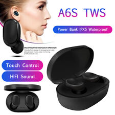 A6S TWS Bluetooth Headset Stereo AirDots Wireless 5.0 Earphone Active Earbuds