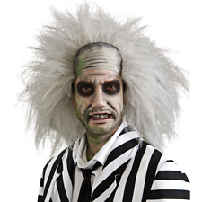 Beetlejuice Adult Wig Movie Beetle Juice Hair Michael Keaton Beatle Mens Costume