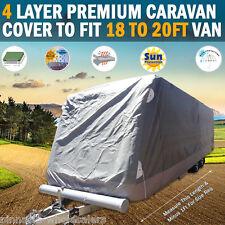 NEW Pinnacle 4 Layer Premium Caravan Cover to fit 18 to 20ft Van
