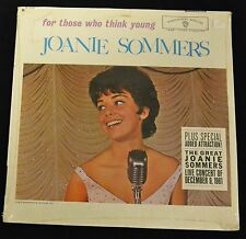 ORIGINAL SEALED Joanie Sommers For Those Who Think Young Warner Brothers MONO