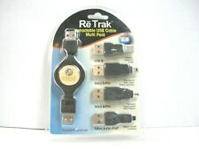 Emerge Retractable USB Cable Multi Pack Adapter Tips (QTY 1 ea)ALT