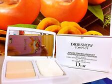 Diorsnow White Reveal Pure & Perfect Transparency Make Up Compact 012 Porcelaine