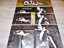 ONIBABA ! nabuko otowa Kaneto Shindo affiche cinema japon  1964