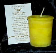 LAUGHTER REIKI candles Crystal Journey Candles Herbal MAGIC votives candle