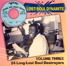 LOST SOUL DYNAMITE - VOLUME #3 - 24 VA TRACKS