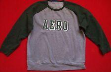 Mens AERO Aeropostale sweatshirt Sz XL embroidered lettering ctn blend