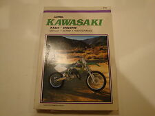 92-00 Clymer Kawasaki KX125 Service Repair Manual KX 125 Maintenance