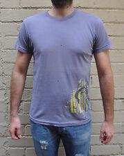 Marc Jacobs Sea Captain Graphic Tee Purple Cotton Short Sleeve T-Shirt S NWT