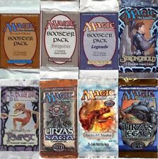 Magic The Gathering Vintage Booster Packs Revised Unlimited Legends Antiquities