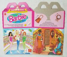 McDonalds 1995 Mattel Barbie Dolls of the World Happy Meal Box Olympics Kenyan